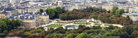 Elevated view of Luxembourg garden, Paris, France 11098031621| 写真素材・ストックフォト・画像・イラスト素材|アマナイメージズ