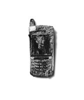 Old cell phone on white background 11100025185| 写真素材・ストックフォト・画像・イラスト素材|アマナイメージズ
