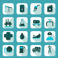 Oil industry icons set with pump tanker barrel isolated vector illustration. 60016003272| 写真素材・ストックフォト・画像・イラスト素材|アマナイメージズ