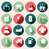 Oil industry petrol and gasoline energy icons set isolated vector illustration 60016003273| 写真素材・ストックフォト・画像・イラスト素材|アマナイメージズ