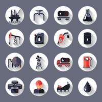 Oil industry fossil conservation and transportation icons set isolated vector illustration 60016003274| 写真素材・ストックフォト・画像・イラスト素材|アマナイメージズ