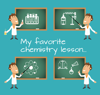 Scientists in chemistry science lesson with chalkboard set vector illustration 60016003446| 写真素材・ストックフォト・画像・イラスト素材|アマナイメージズ