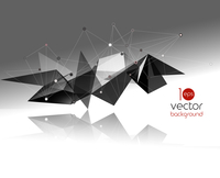 Vector color abstract geometric banner with triangle. 60016005742| 写真素材・ストックフォト・画像・イラスト素材|アマナイメージズ