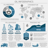 Global crude oil drilling and refining industrial process petroleum production distribution business infographic statistic prese 60016006057| 写真素材・ストックフォト・画像・イラスト素材|アマナイメージズ