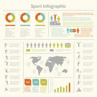 Infografic athletics sport achievements development and competitions winners statistics presentation diagrams layout template de 60016007157| 写真素材・ストックフォト・画像・イラスト素材|アマナイメージズ
