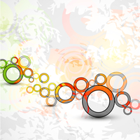 Vector abstract color grunge circles background 60016010001| 写真素材・ストックフォト・画像・イラスト素材|アマナイメージズ