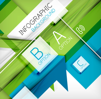 Infographic abstract background - arrow geometric shape. For business presentation | technology | web design 60016014044| 写真素材・ストックフォト・画像・イラスト素材|アマナイメージズ