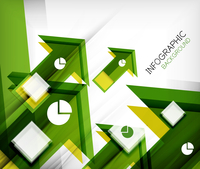 Infographic abstract background - arrow geometric shape. For business presentation | technology | web design 60016014045| 写真素材・ストックフォト・画像・イラスト素材|アマナイメージズ