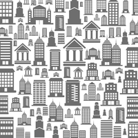 Background made of houses. A vector illustration 60016020290| 写真素材・ストックフォト・画像・イラスト素材|アマナイメージズ