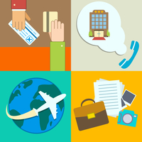 Business travel infographics icons set with hands of ticket purchase hotel booking and flight vector illustration 60016027859| 写真素材・ストックフォト・画像・イラスト素材|アマナイメージズ