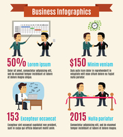 Business life infographics with working meeting people vector illustration 60016028943| 写真素材・ストックフォト・画像・イラスト素材|アマナイメージズ