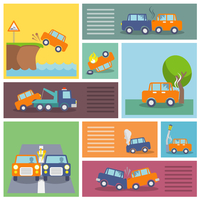 Colored decorative driving safety car security and auto crash protection  icons set isolated vector illustration 60016029175| 写真素材・ストックフォト・画像・イラスト素材|アマナイメージズ
