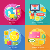 Business process concept of delivery online internet shopping add to cart and payment methods icons set vector illustration 60016029241| 写真素材・ストックフォト・画像・イラスト素材|アマナイメージズ