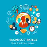 Business and management modern strategy rapid growth of your company concept vector illustration 60016029336| 写真素材・ストックフォト・画像・イラスト素材|アマナイメージズ