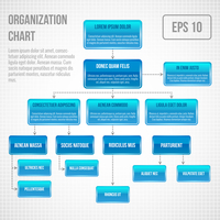 Organizational chart infographic business structure concept  flowchart vector illustration 60016029764| 写真素材・ストックフォト・画像・イラスト素材|アマナイメージズ
