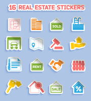 Real estate stickers set of commercial residential property elements isolated vector illustration 60016029796| 写真素材・ストックフォト・画像・イラスト素材|アマナイメージズ