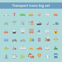 Set of flat transportation vehicles icons for web design or infographics elements isolated vector illustration 60016029800| 写真素材・ストックフォト・画像・イラスト素材|アマナイメージズ