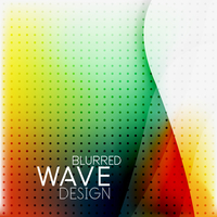 Colorful blurred wave business hi-tech background with dot textrure 60016030011| 写真素材・ストックフォト・画像・イラスト素材|アマナイメージズ